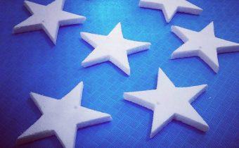 یونولیت ، یونولیت بر ، برش یونولیت ، تزینات با یونولیت ، ستاره ، ستاره یونولیتی